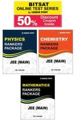 Ranker's Package For JEE Main (Vol-1) + 50% Discount Coupon For BITSAT Online Test Series
