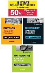 Ranker's Package For JEE Advanced (Vol-1) + 50% Discount Coupon For BITSAT Online Test Series