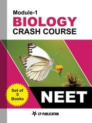 Biology Crash Course Study Material (SMP) for NEET (Set of 5 Books )