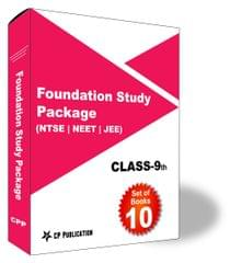 Class 9th Foundation Study Package For NTSE, JEE & NEET (Vol-1) Phy, Che, Maths, Biology, English, Social Science & Mental Ability