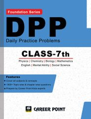 Class 7: Daily Practice Problems for Competitive Exams Foundation (All in One)