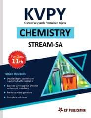 KVPY-SA: Chemistry for Class 11th by Career Point, Kota