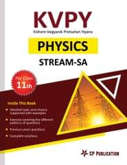 KVPY-SA Physics for Class 11th by Career Point, Kota