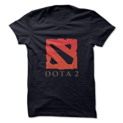 Dota Logo T shirt Black