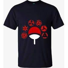 Naruto Sharingan T shirt