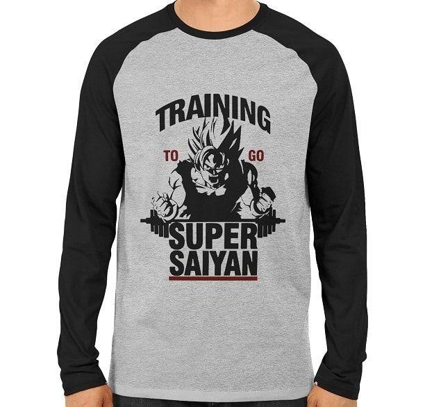 Saiyan Gym Raglan