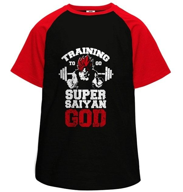 Super Saiyan God Half Sleeves