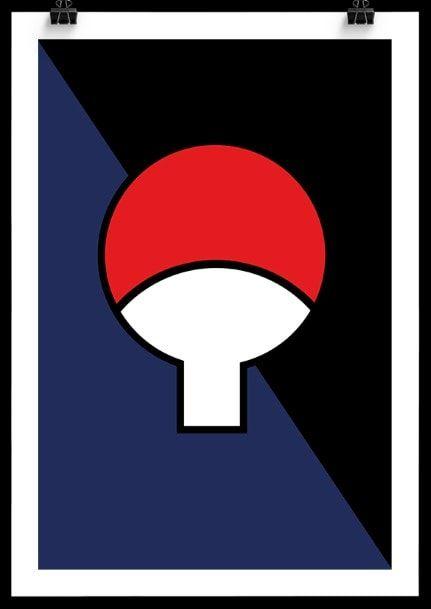 Naruto uchiha Clan Poster