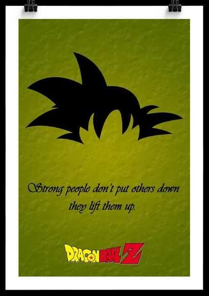 DragonBall Z Goku Poster