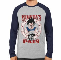 Vegeta Gym Full Sleeve