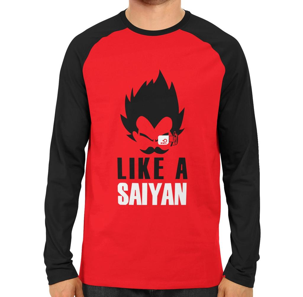 Like A Saiyan Full Sleeve