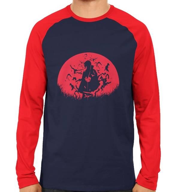 Itachi Red Raglan