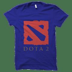 Dota Logo Blue