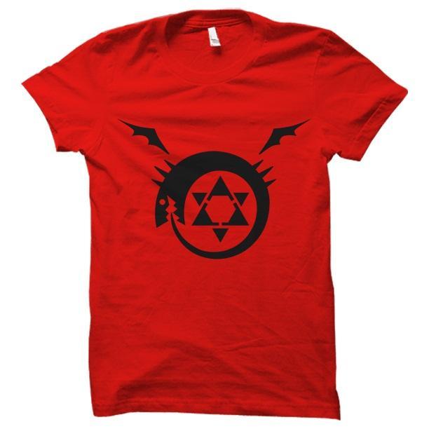 Full Metal Alchimist Red