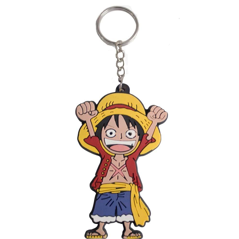 Monkey D. Luffy Keychain