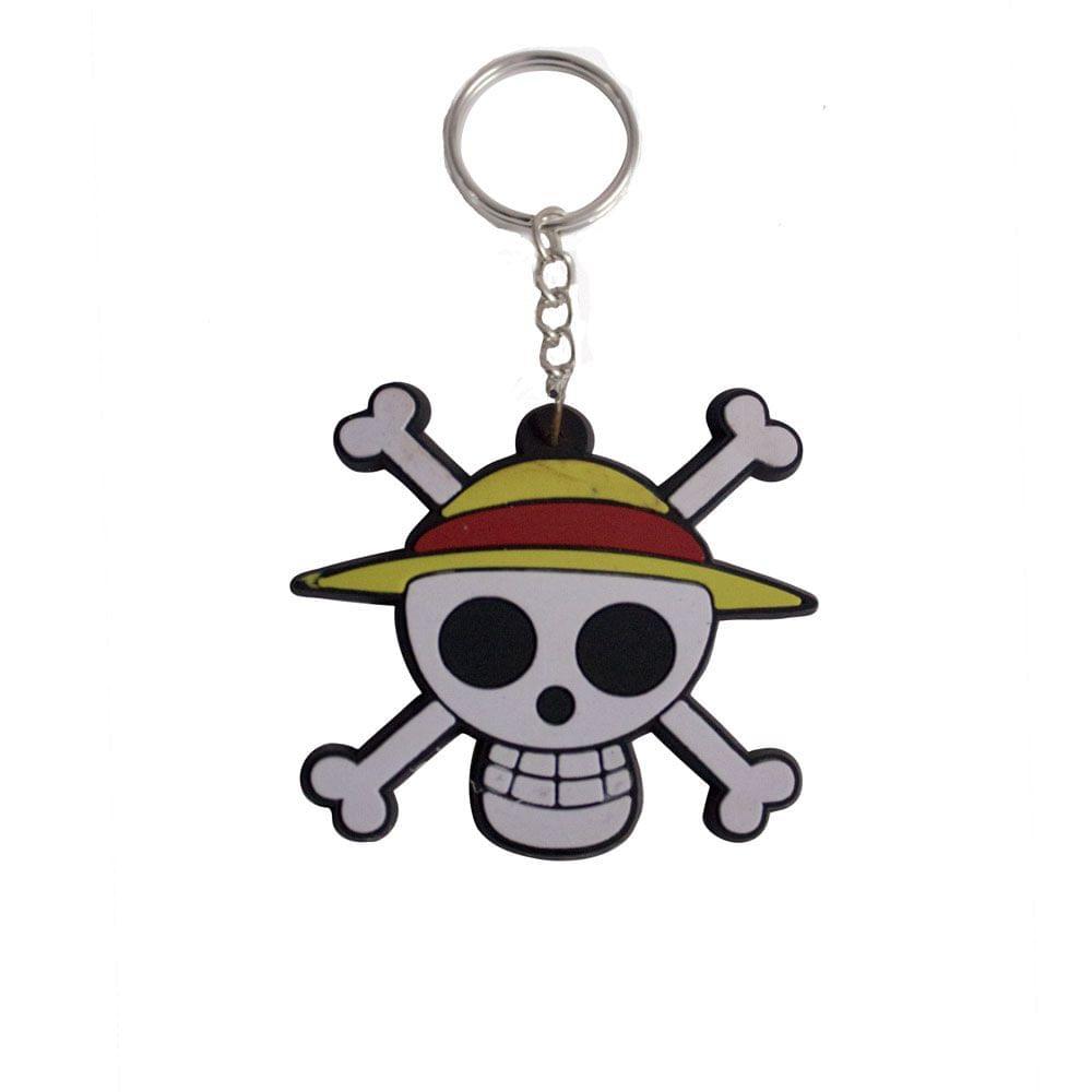 One Piece Pirate Keychain