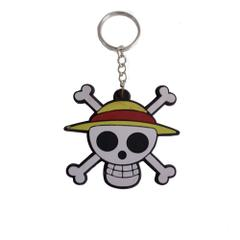 One Piece Pirate Keychain