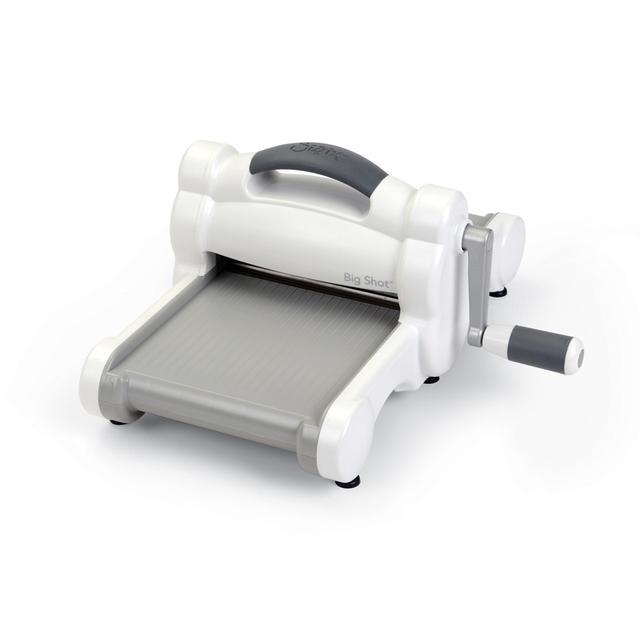 SIZZIX Big Shot Machine Only (White & Gray)