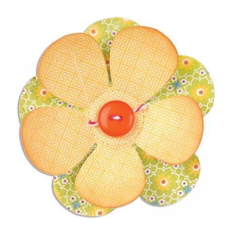 Sizzix Bigz Die - Flower - A10143