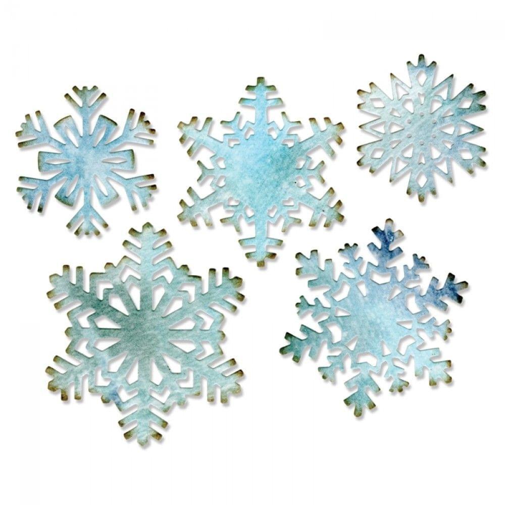 Sizzix Thinlits Die Set 5PK - Paper Snowflakes - 660059