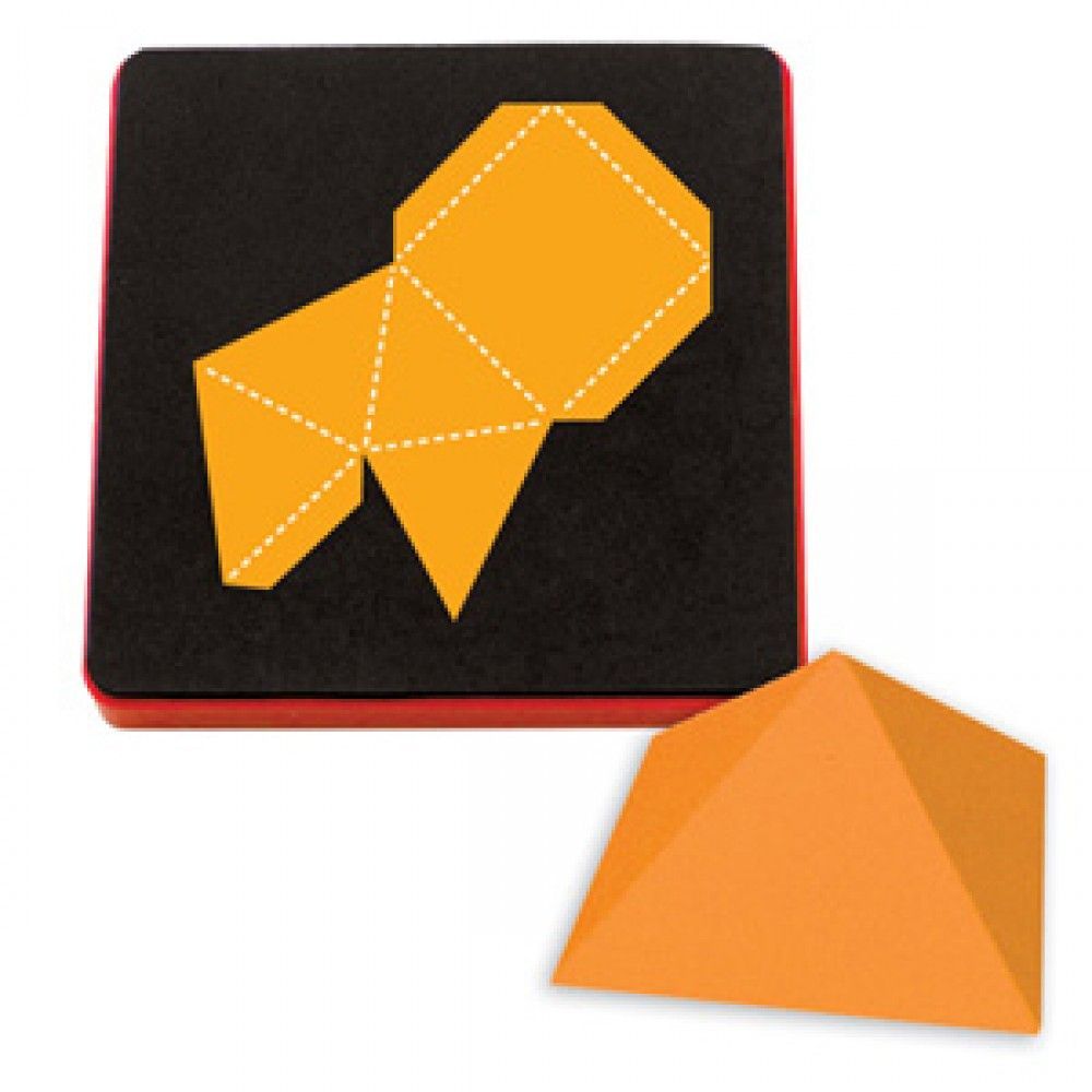 "Sizzix Bigz Die - Pyramid 3-D, Square Base 1 3/4"" - A10350"