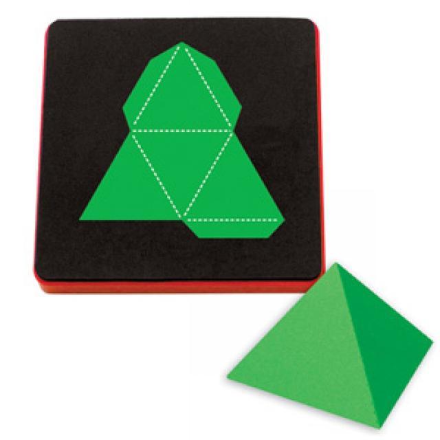 Sizzix Bigz Die - Pyramid 3-D, Triangle  - A10351