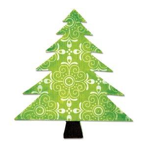 Sizzix Bigz Die - Tree, Christmas - A10195