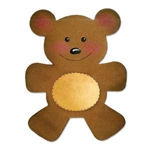 Sizzix Bigz Die - Teddy Bear - A10188