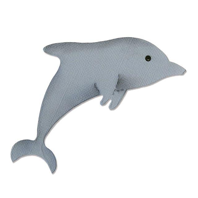 Sizzix Bigz Die - Dolphin #2 - A10374