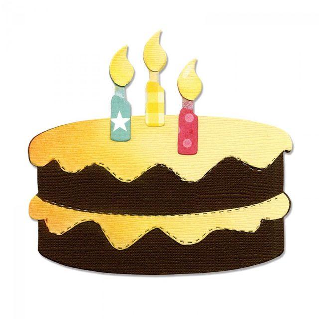 Sizzix Bigz Die - Birthday Cake & Candles - A10117