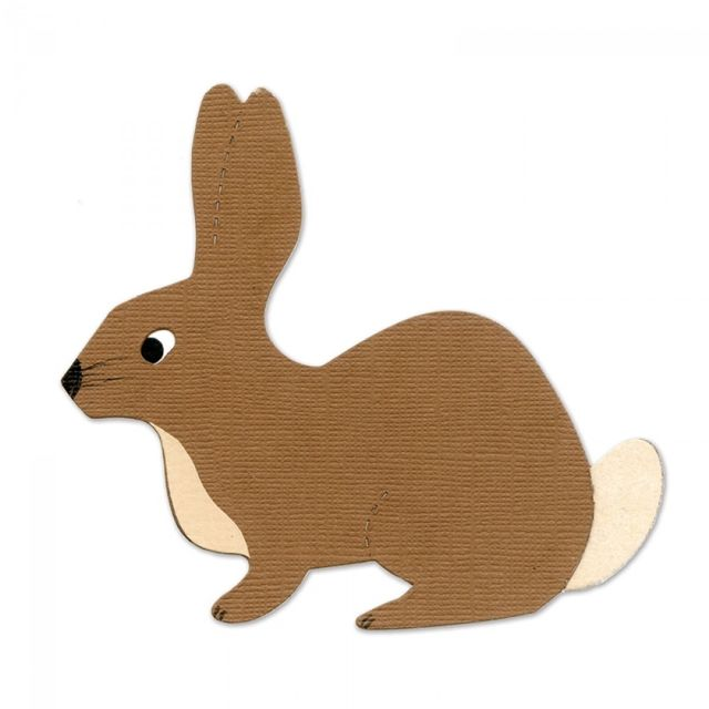 Sizzix Bigz Die - Rabbit #2 - A10345