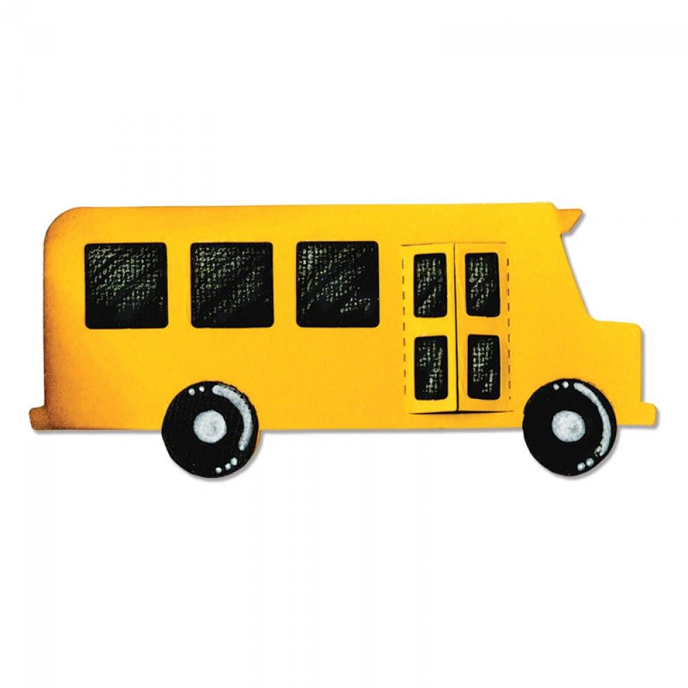 Sizzix Bigz Die - School Bus  - A10174