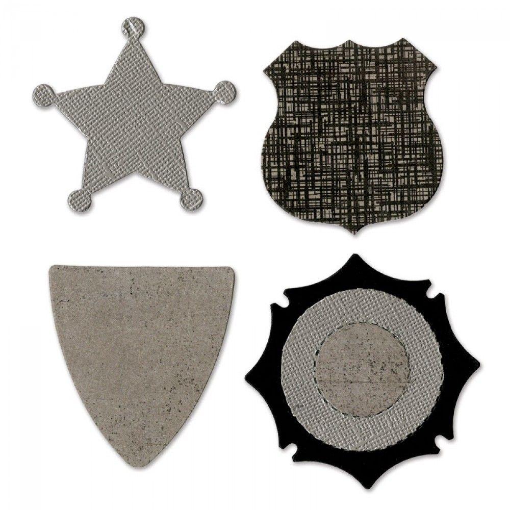 Sizzix Bigz Die - Badges - A11018