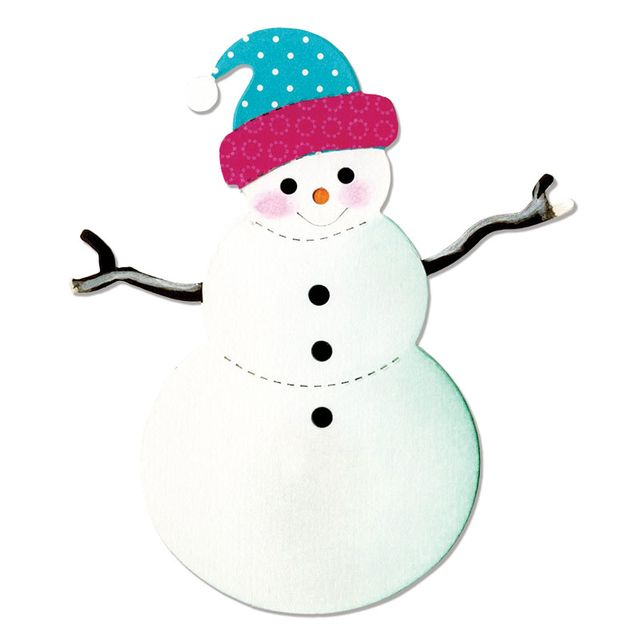 Sizzix Bigz Die - Snowman - A10692