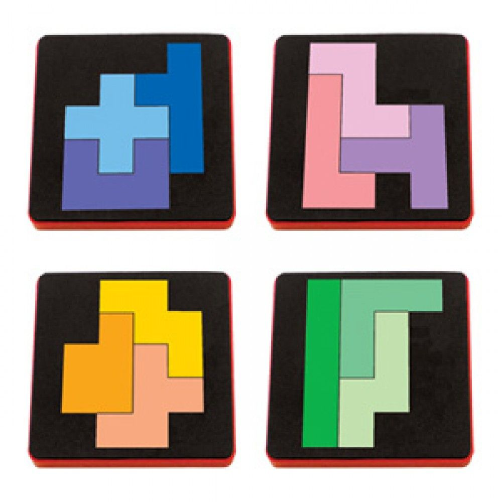 AllStar Die Set - Pentominoes (4 Die Set) - A10733