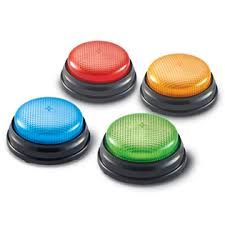 Lights & Sounds Buzzers , Set of 4