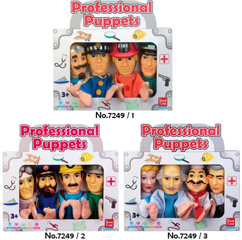 Professional Combo - Large Hand Puppets  (Pack of 12)