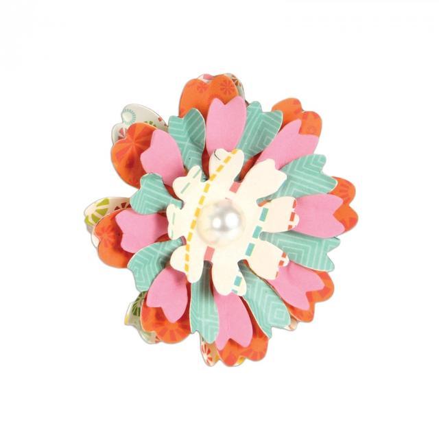 Sizzix Bigz Die - Flower, Heart & Soul - 661108