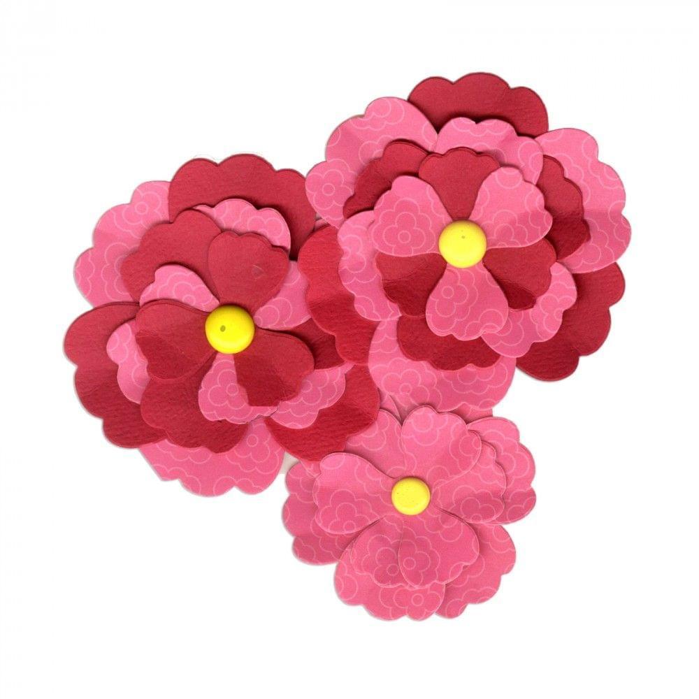 Sizzix Bigz Die - Flower, Pansy - 661109