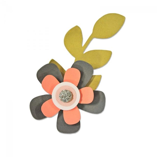 Sizzix Bigz Die - Garden Flower - 660874