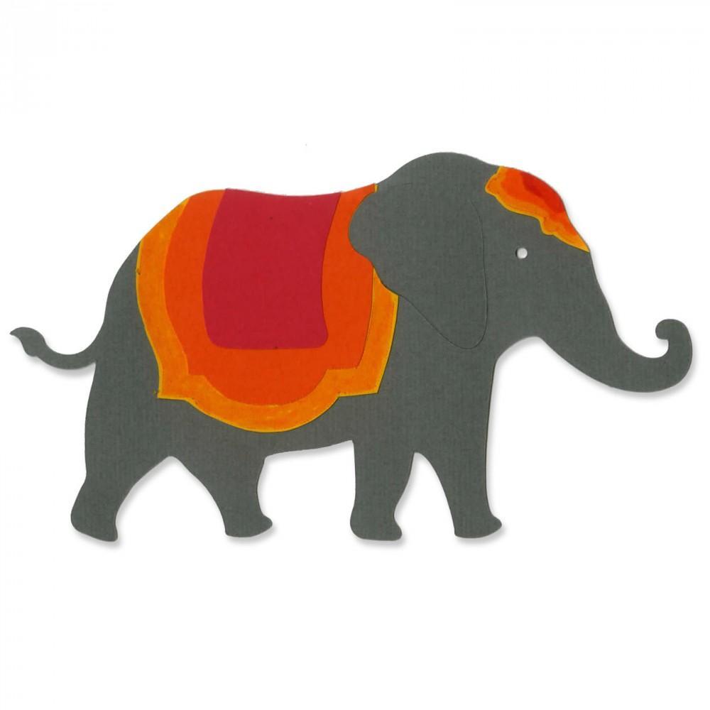 Sizzix Bigz Die - Elephant #2 - A11118