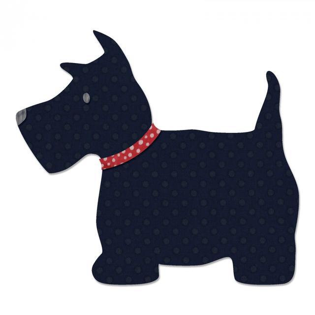 Sizzix Bigz L Die - Scottie Dog - 661279