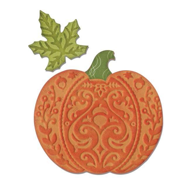 Sizzix Bigz Die w/Bonus Embossing - Harvest Pumpkin - 660654
