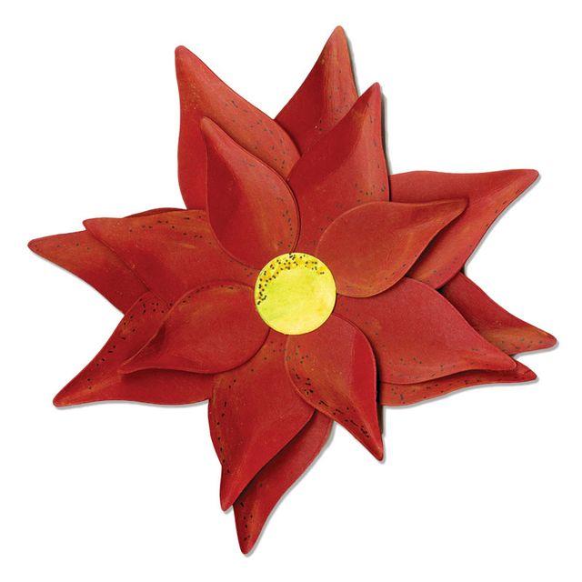 Sizzix Bigz L Die - Flower, Layered Poinsettia - A11031