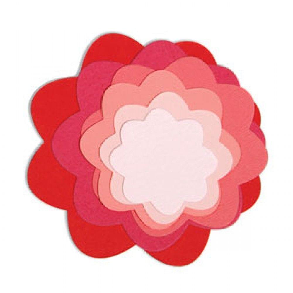 Sizzix Framelits Die Set 7PK - Flowers  - 657553