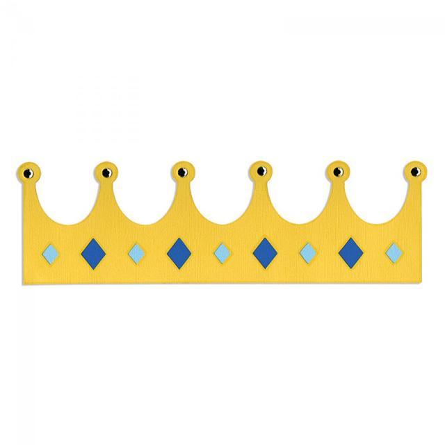 Sizzix Bigz XL Die - Border, Crown - A10763