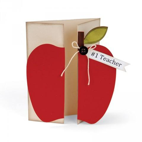 Sizzix Bigz XL Die - Card, Apple Gatefold - A11032