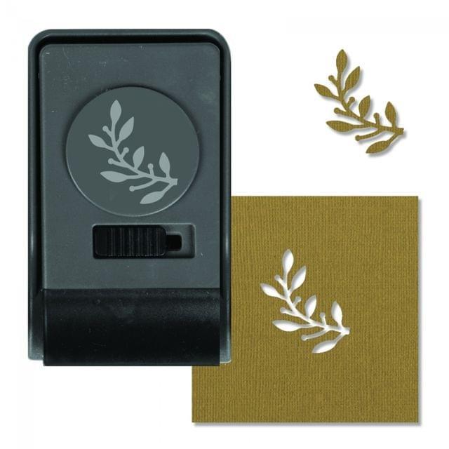 Sizzix Paper Punch - Laurel, Large - 660172