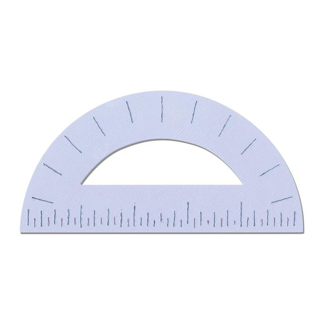 """Sizzix Bigz Die - Protractor, 5"""" to Scale - A11104"""