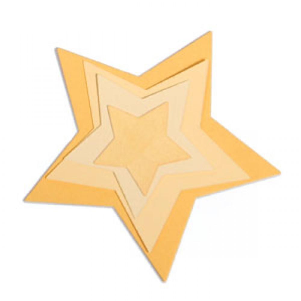 Sizzix Framelits Die Set 5PK - Stars  - 657567